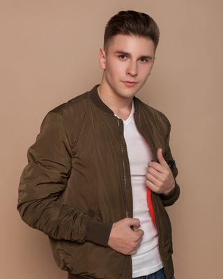 New face male model Vlad from Ukraine
