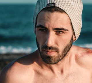 New face male model Jesus from Spain