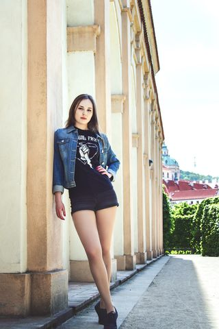 New face female model Lucia from Czechia