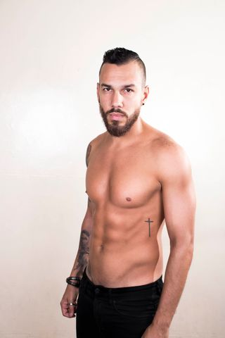 New face male model Humberto from United States