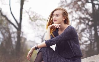 New Face weiblich Model Ludmila from Luxembourg