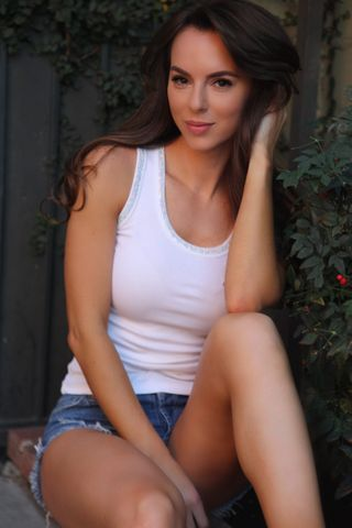 New face female model Maria from United States