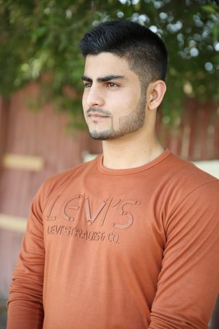 New face male model Saqib from United Arab Emirates