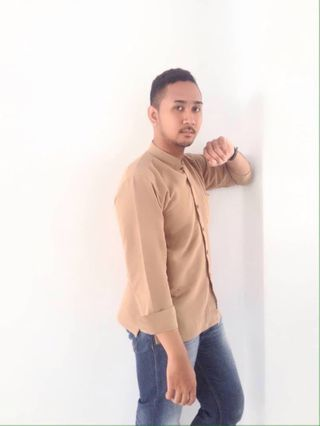 New face male model Gerald from Indonesia