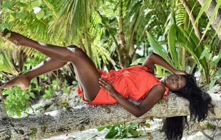 New face male model Artee from Seychelles