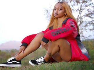 New face female model Da'Nae from United States