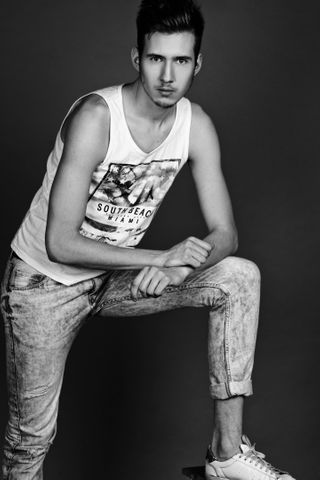 New face male model Valentin from Russia