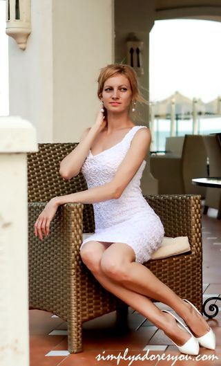 New face female model Yuliia from France