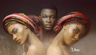 New face male model Hill from Nigeria
