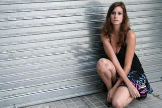New face female model Nuria from Spain