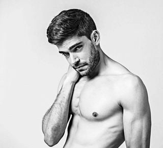 New face male model Elías from Spain