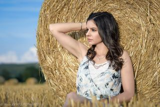 New face kobieta modelka, model Aude from Francja