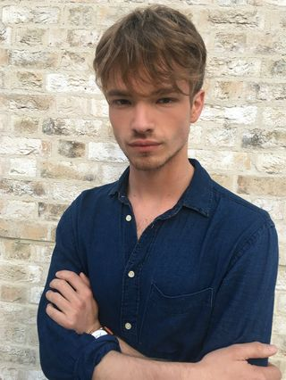 New face male model Matthew from United Kingdom