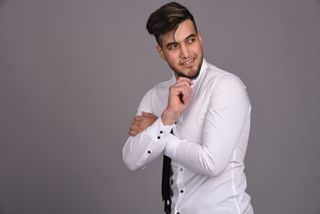 New face male model Mustafa from Belgium