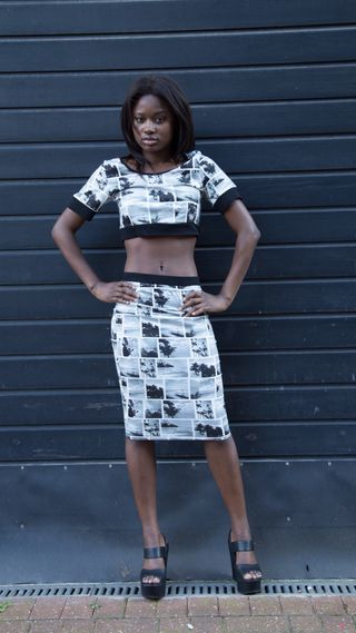 New face female model Kemi from United Kingdom