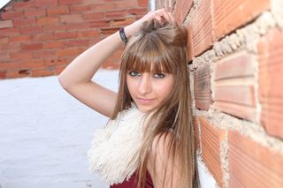New face female model Cristina from Spain