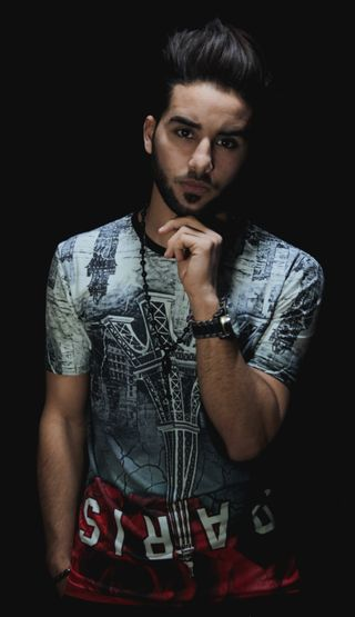 New face male model Med from Algeria