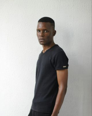 New face male model Adedeji from Nigeria