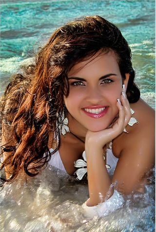 New face female model Adriana from Cuba