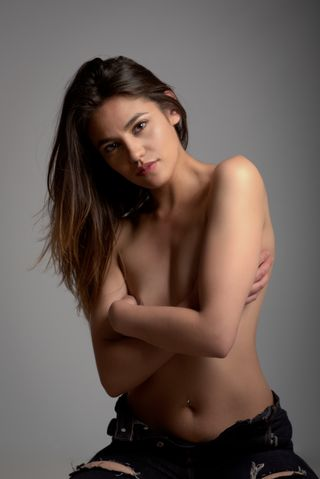 New face female model Luciana from Colombia