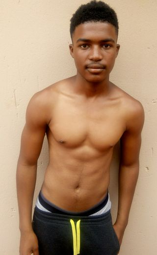 New face male model TSHEPO from South Africa