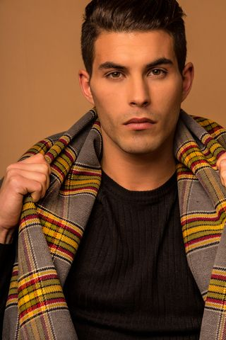 New face homme Mannequin Adrian from Espagne