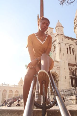 New face femme Mannequin Aminata from France