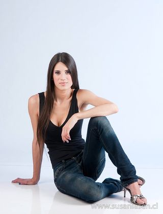 Professional model female model Javiera from Chile
