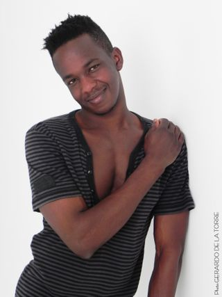 New face male model DAOUDA from Spain