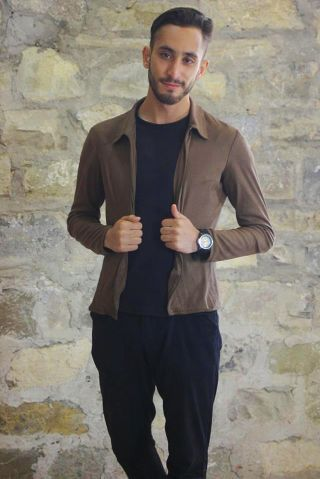 New face male model Yahia from Algeria