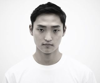 New face male model Yoon from South Korea