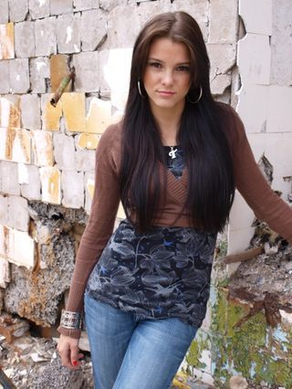 New face female model Tatjana from Estonia