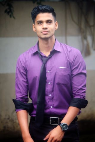 New face male model Kiran from India