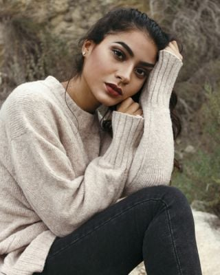 New face female model Halima from Spain