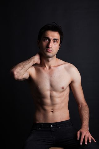 New face Male model Hikmet from Turkey