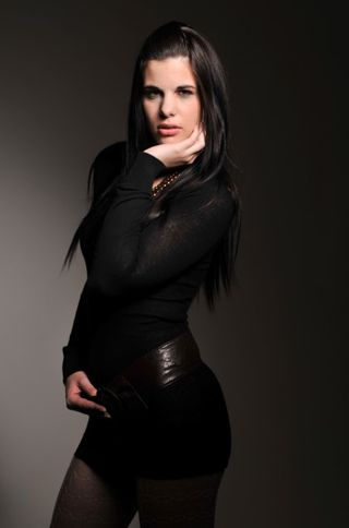 New face female model Eniko from Poland