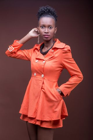 New face female model Joan from Kenya
