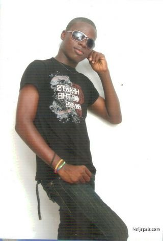 New face male model femi from Nigeria