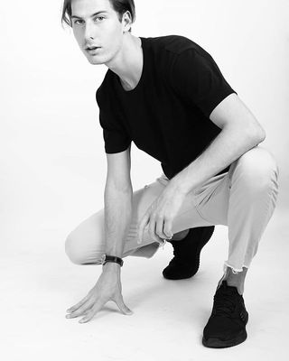 New face Male model DZIANIS from Belarus