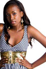 New face female model chioma from United States