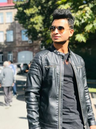 New face homme Mannequin Ankit from Armenia