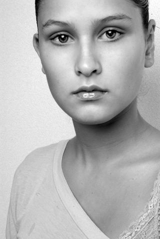 New face female model Marie-Claire from Netherlands