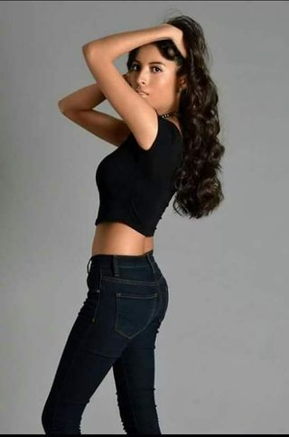 New face female model Veronica from Mexico