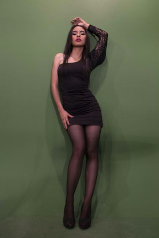 New face female model Alexandra from Ecuador
