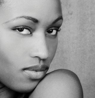 New face Female model ciru from Kenya