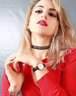 New face female model Lucrezia from Italy