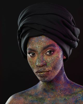 New Face weiblich Model Ayanda from Südafrika