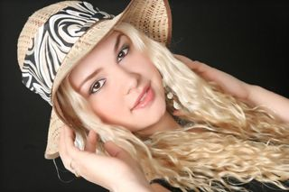 New face female model Liza from Spain