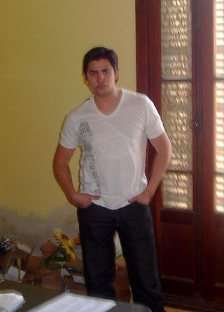 New face male model pablo from Paraguay