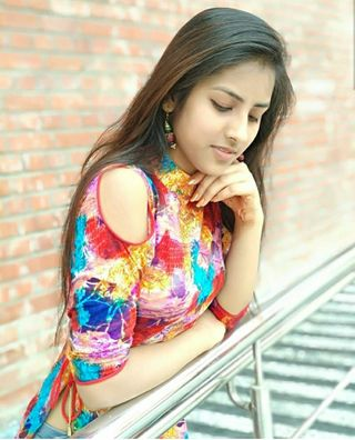 New face female model Saloni from India